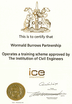 ICE Approved Training Certificate